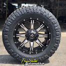 20x9 Fuel Nutz D541 Black - 35x11.50r20 Nitto Ridge Grappler