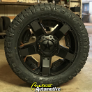 20x9 XD Rockstar II RS 2 811 Black - 285/50r20 Nitto Ridge Grappler