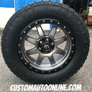 20x9 Fuel Trophy D552 Anthracite with Black Beadlock - LT305/55r20 Nitto Terra Grappler G2
